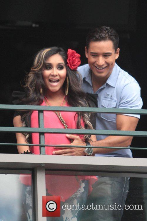 Nicole Polizzi and Mario Lopez 2