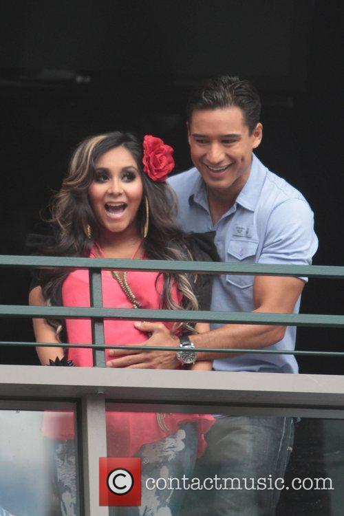 Nicole Polizzi and Mario Lopez 3