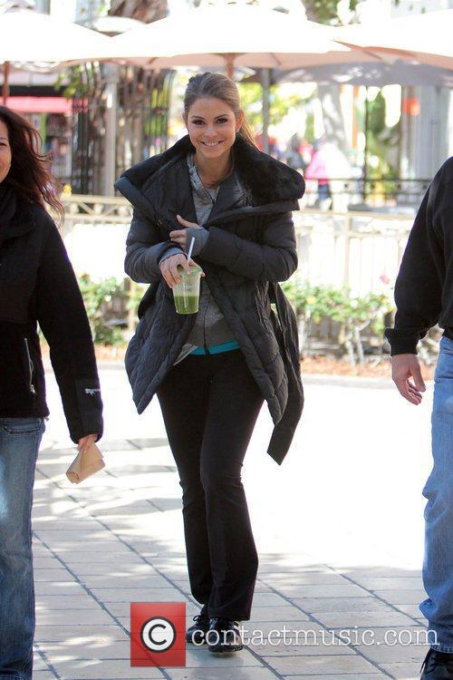 maria menounos at the grove to appear 5811779