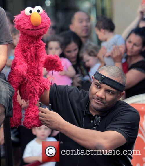 Kevin Clash and Elmo 2