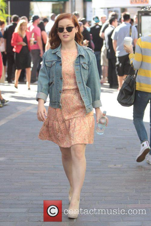 Jane Levy Celebrities at The Grove to appear...