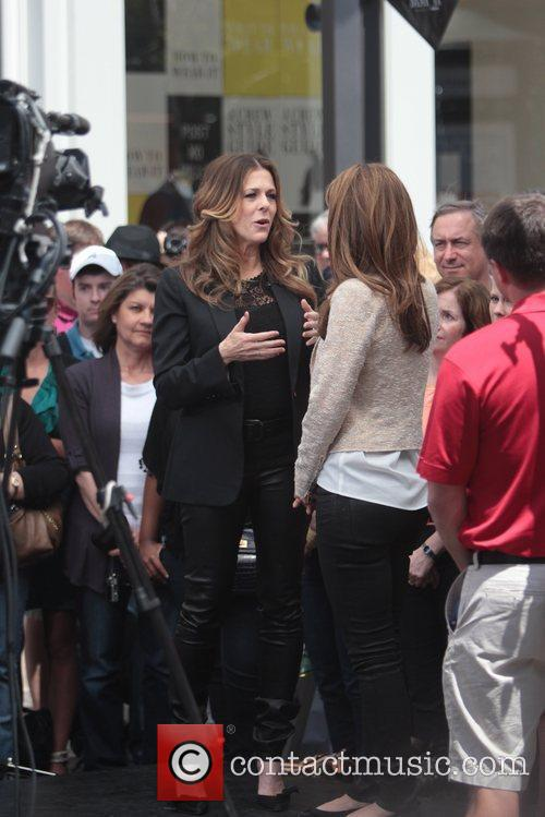 Maria Menounos and Rita Wilson 5