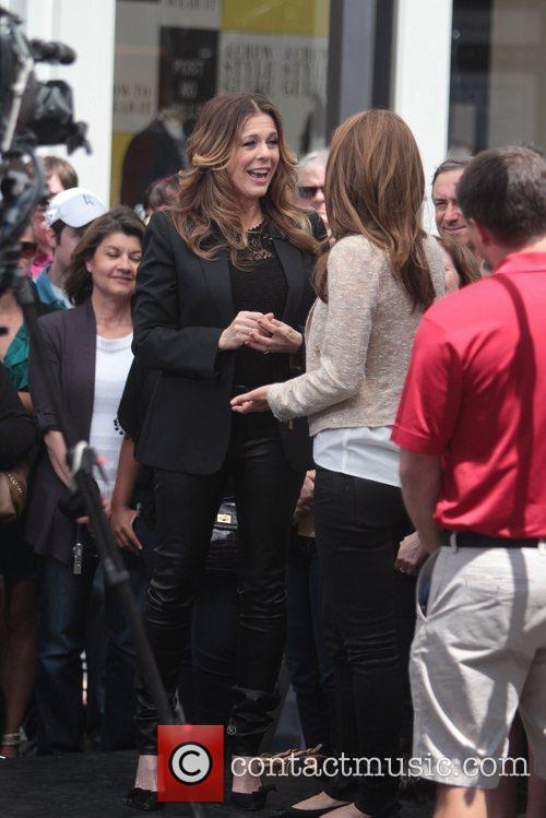 Maria Menounos and Rita Wilson 8