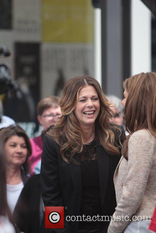 Maria Menounos and Rita Wilson 11