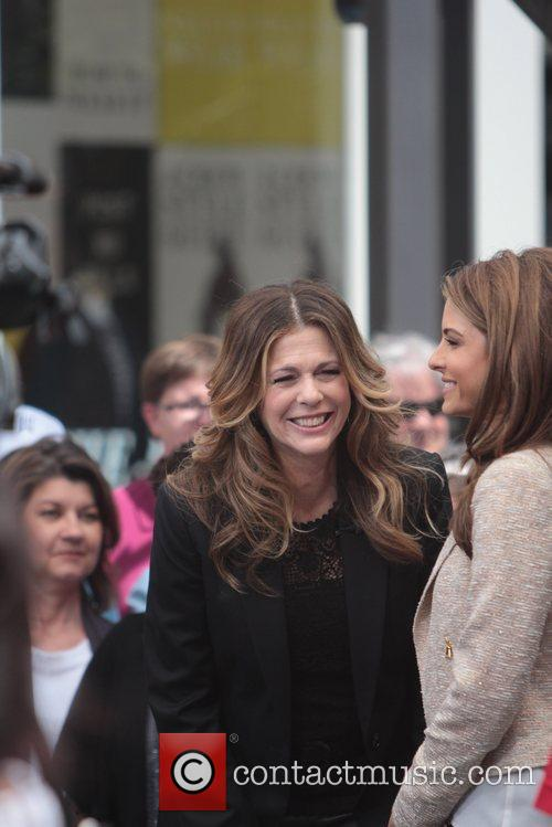 Maria Menounos and Rita Wilson 12