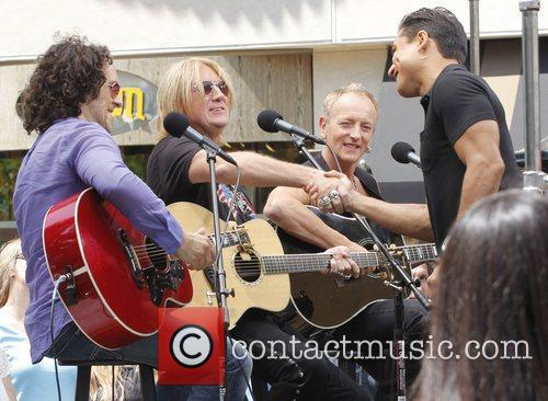 Def Leppard performs at The Grove for a...