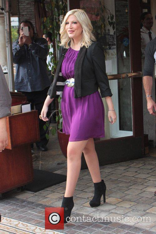 tori spelling celebrities at the grove to 5962377