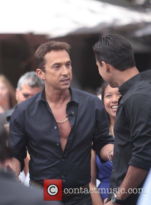 Bruno Tonioli and Mario Lopez Celebrities appear on...
