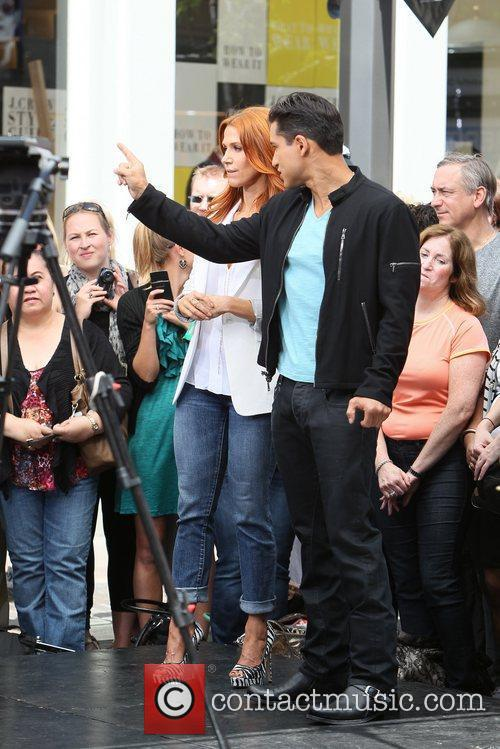 Poppy Montgomery and Mario Lopez 6