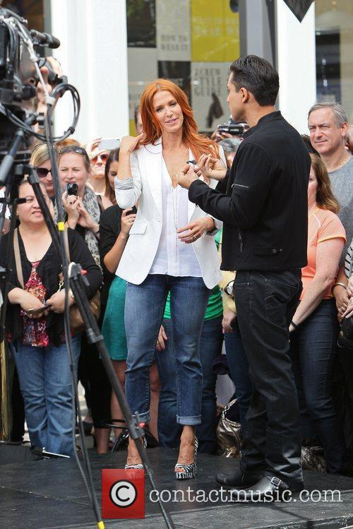Poppy Montgomery and Mario Lopez 10