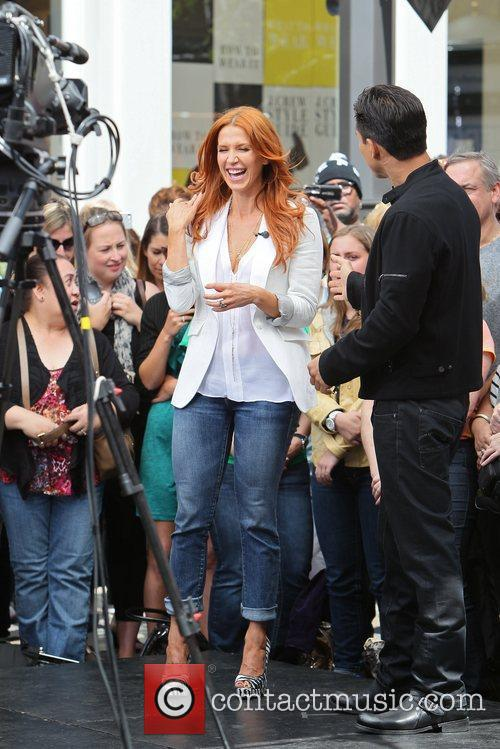 Poppy Montgomery and Mario Lopez 12