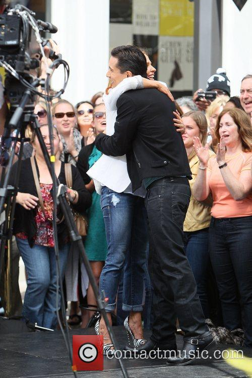 Poppy Montgomery and Mario Lopez 30