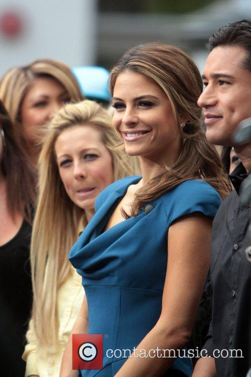 Maria Menounos and Mario Lopez 2