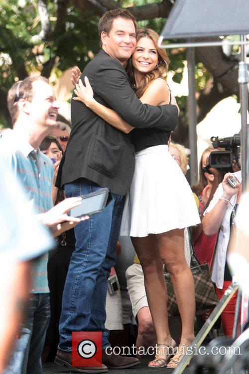 Michael Weatherly and Maria Menounos 11
