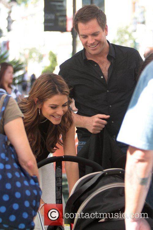 Michael Weatherly and Maria Menounos 1