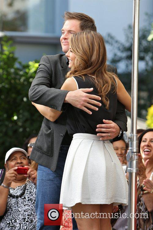 Michael Weatherly and Maria Menounos 9