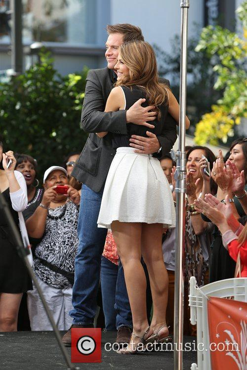 Michael Weatherly and Maria Menounos 8
