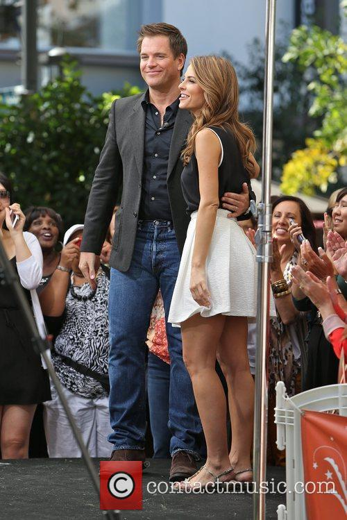 Michael Weatherly and Maria Menounos 6