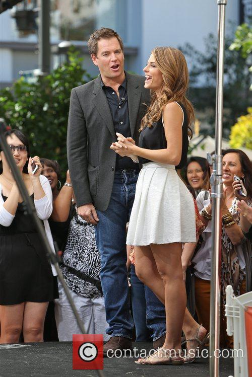 Michael Weatherly and Maria Menounos 5