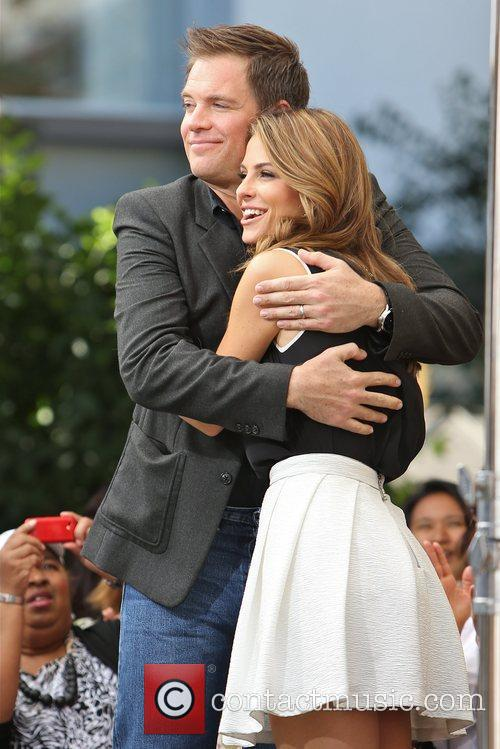 Michael Weatherly and Maria Menounos 10