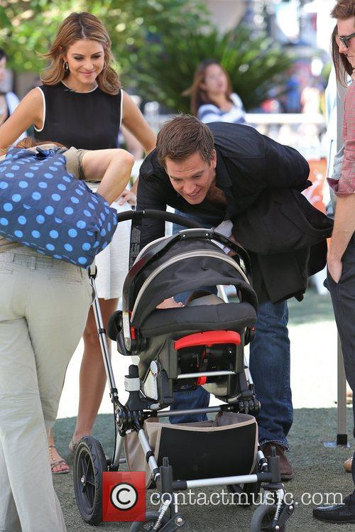 Michael Weatherly and Maria Menounos 2