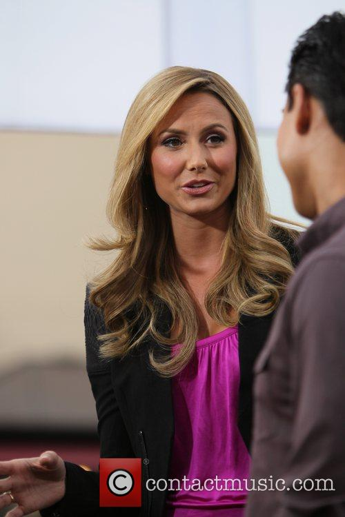 Stacy Keibler at The Grove to film for...