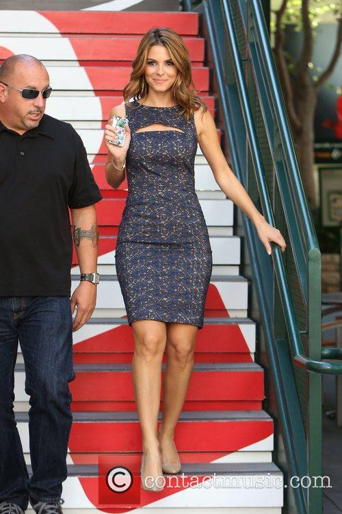 maria menounos at the grove to appear 4127678