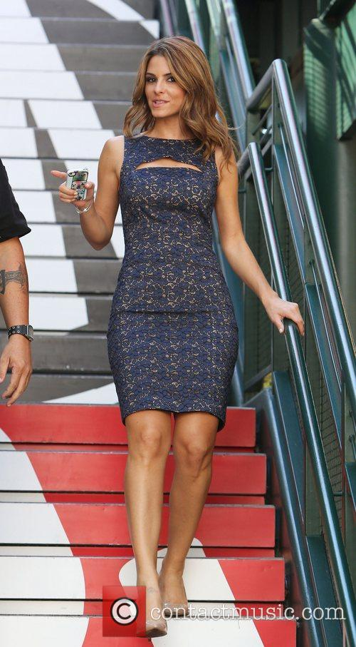 maria menounos at the grove to appear 4127679