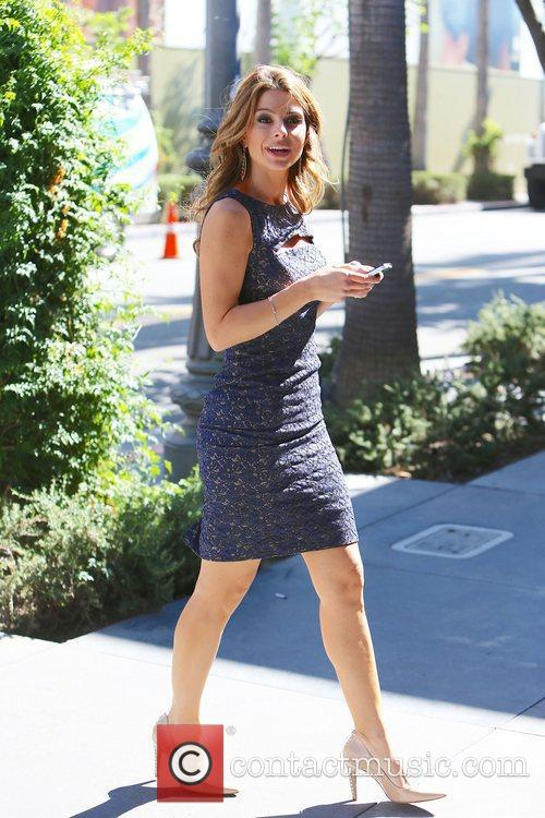 maria menounos at the grove to appear 4127689