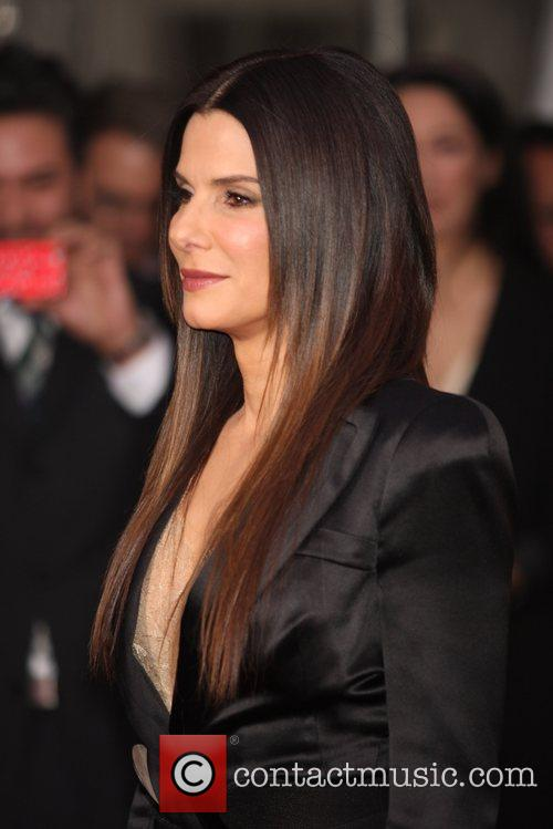 Sandra Bullock and Ziegfeld Theatre 5