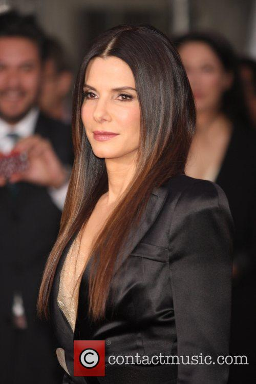Sandra Bullock and Ziegfeld Theatre 4