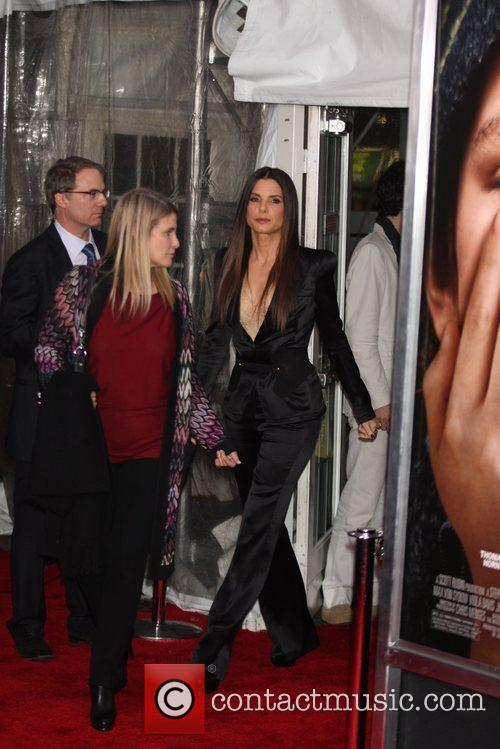 Sandra Bullock and Ziegfeld Theatre 11