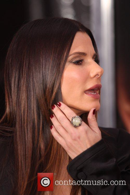 Sandra Bullock and Ziegfeld Theatre 10
