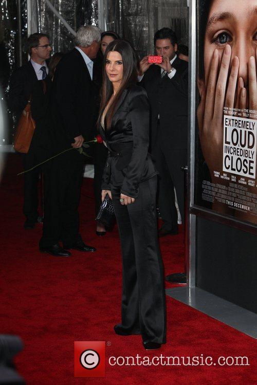Sandra Bullock and Ziegfeld Theatre 22