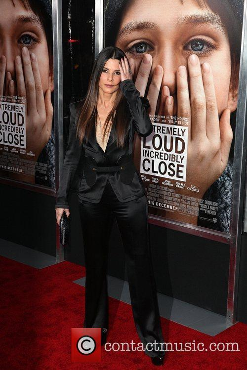 Sandra Bullock and Ziegfeld Theatre 20