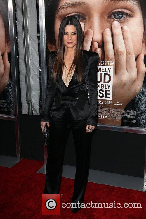 Sandra Bullock and Ziegfeld Theatre 1