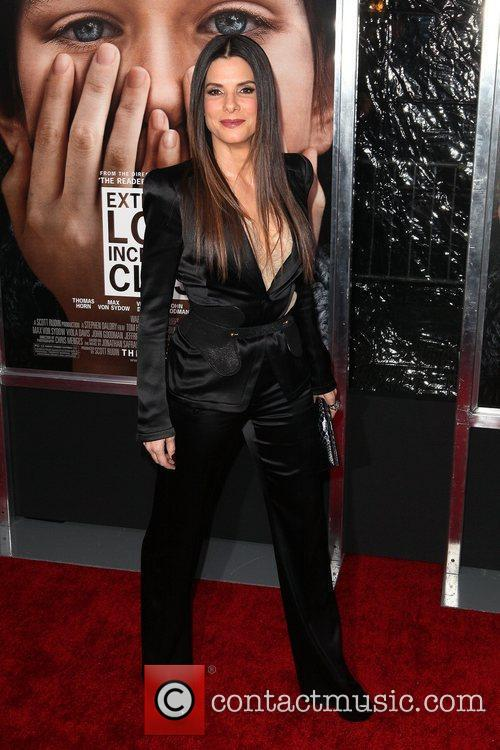 Sandra Bullock and Ziegfeld Theatre 23