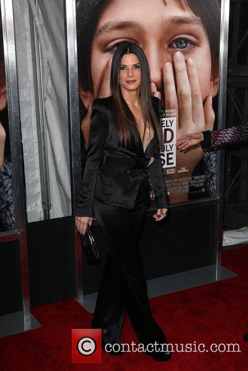 Sandra Bullock and Ziegfeld Theatre 21