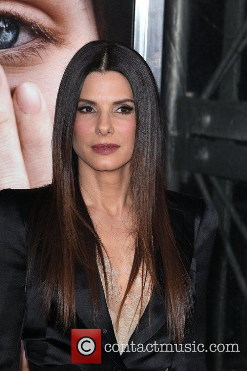 Sandra Bullock and Ziegfeld Theatre 16