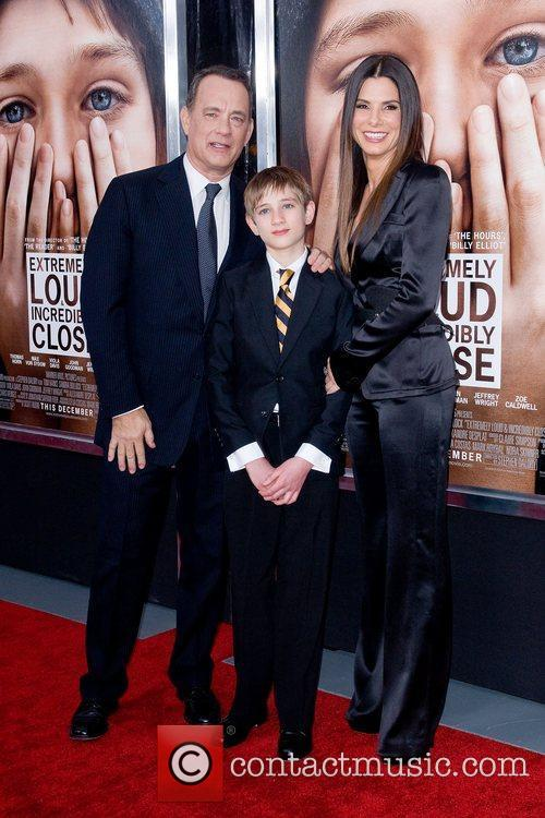 sandra bullock tom hanks and thomas horn 3658768