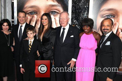 Stephen Daldry, Jeffrey Wright, Max Von Sydow, Sandra Bullock, Thomas Horn, Tom Hanks, Viola Davis and Ziegfeld Theatre 1