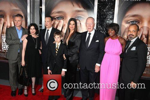 Stephen Daldry, Jeffrey Wright, Max Von Sydow, Sandra Bullock, Thomas Horn, Tom Hanks, Viola Davis and Ziegfeld Theatre