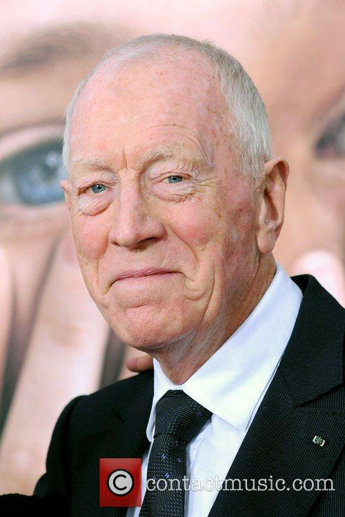 Max Von Sydow and Ziegfeld Theatre 4