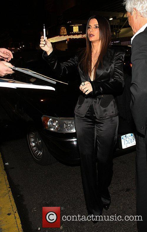 Sandra Bullock and Ziegfeld Theatre 7