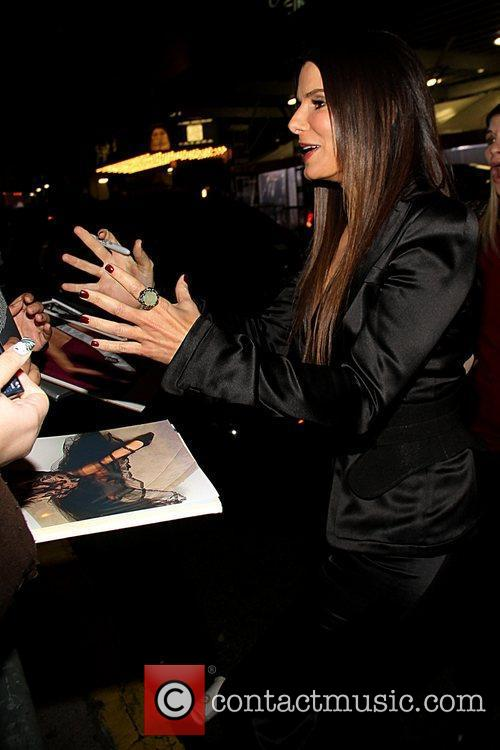 Sandra Bullock and Ziegfeld Theatre 6