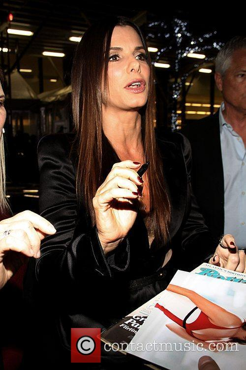 Sandra Bullock and Ziegfeld Theatre 2