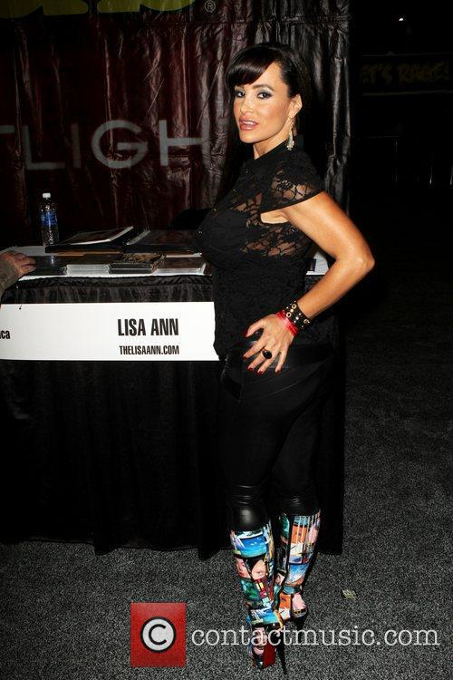 Lisa Ann attends Exxxotica 2012 at the...