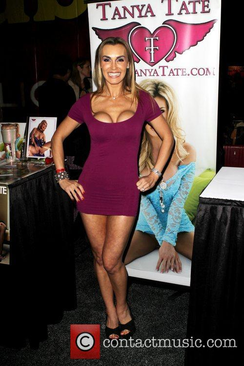 Tanya Tate attends Exxxotica 2012 at the...