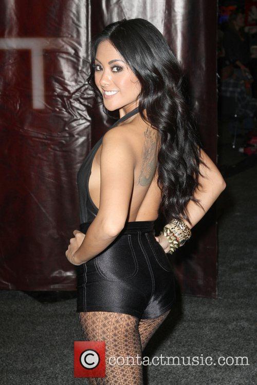 Adult Fillm Actress Kaylani Lei  Exxxotica 2012...