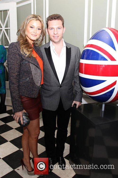 Holly Valance and Nicky Candy attending the Faberge...